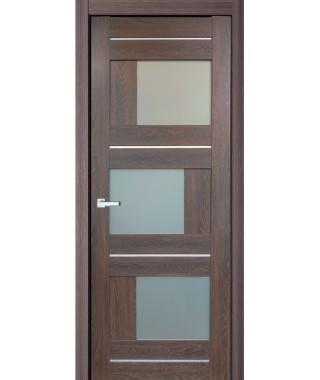 Дверь с ПВХ покрытием 13К (Филадельфия Дуб Коньяк, матовое)