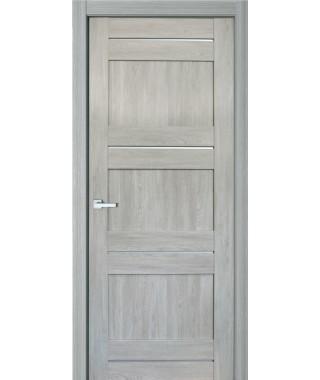 Дверь с ПВХ покрытием 41К (Филадельфия Дуб Грей)