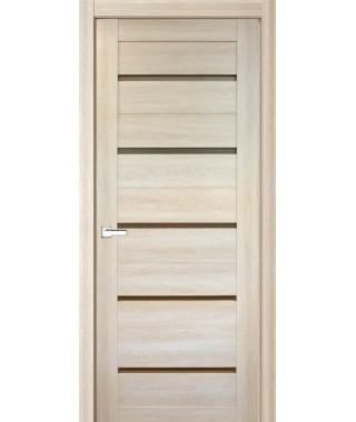 Дверь с ПВХ покрытием 54К (Филадельфия Дуб Крем, Стекло матовое)