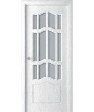 Дверь с ПВХ покрытием Ампир ДО (Осина Перламутр)