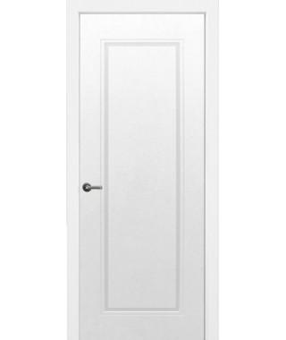 Дверь с ПВХ покрытием Бельви ДГ (Софт Белый)