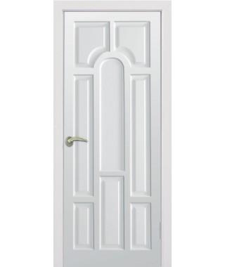 Дверь с ПВХ покрытием Блюз ДГ (Мадлен Белый)