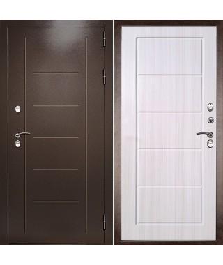 """Входная металлическая дверь """"Термаль Экстра"""" (Беленый дуб с терморазрывом)"""