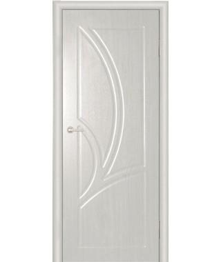 Дверь с ПВХ покрытием Валенсия ДГ (Вуд Ясень Патина)