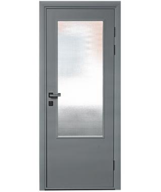 Дверь влагостойкая ДО ПВХ Композит (RAL 7035)