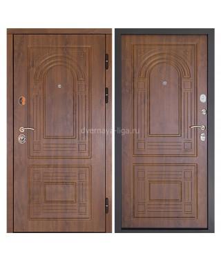 """Входная металлическая дверь """"Флоренция"""" (Золотой дуб)"""