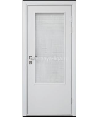 Дверь влагостойкая ДО ПВХ Композит (Белая)