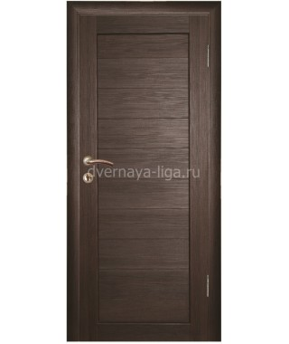 Дверь влагостойкая ДГ-01 (Венге)