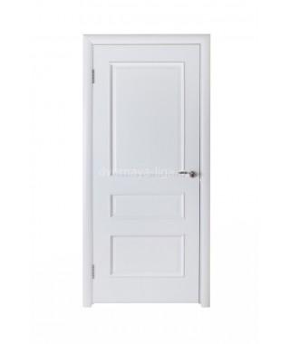 Дверь из шпона Барселона ДГ (Белый ясень)
