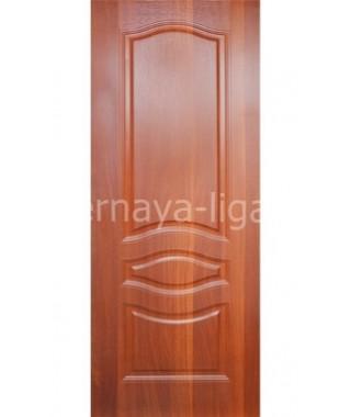 Дверь с ПВХ покрытием Леона ДГ (Итальянский орех)