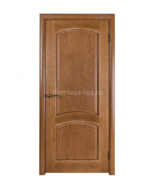 Дверь из шпона Премьера ДГ (Дуб Тон 43)
