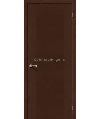 Дверь из шпона Квадро ДГ (Венге)