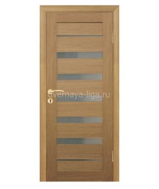 Дверь влагостойкая ДО-02 (Дуб кремовый)