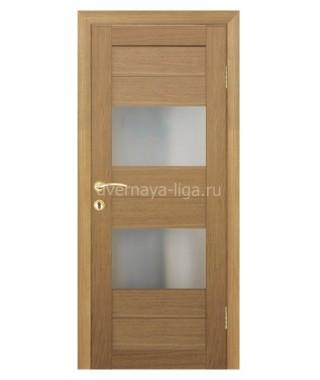 Дверь влагостойкая ДО-07 (Дуб кремовый)