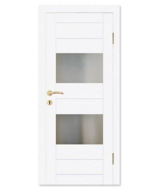 Дверь влагостойкая ДО-07 (Белый матовый)
