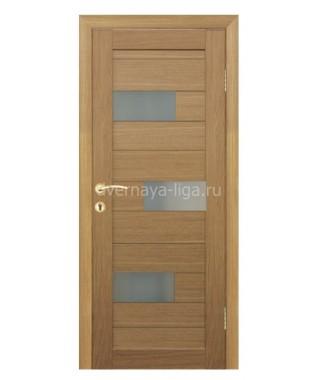 Дверь влагостойкая ДО-15 (Дуб кремовый)
