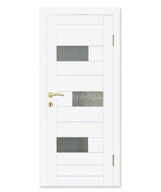 Дверь влагостойкая ДО-15 (Белый матовый)