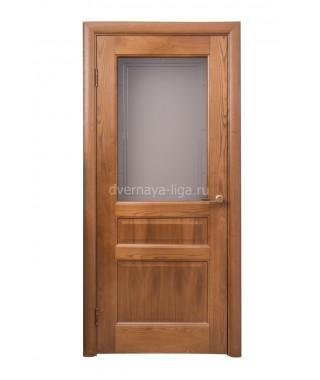 Дверь из шпона Прованс 9 ДО (Дуб медовый)