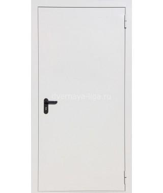 Дверь стальная противопожарная ДПМ-01 (EI-30 EI-60) RAL 7035