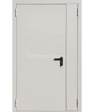 Дверь стальная противопожарная ДПМ-02(EI-30 EI-60) RAL 7035