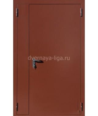 Дверь стальная противопожарная ДПМ-02(EI-30,EI-60) RAL 8017