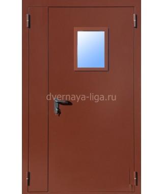 Дверь стальная противопожарная ДПМО-02(EI-30,EI-60) RAL 8017