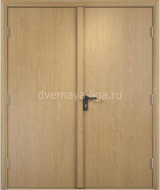 Дверь деревянная противопожарная ДПД-02 EI-30 (Дуб)