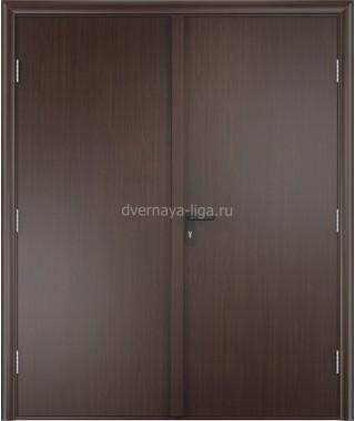 Дверь деревянная противопожарная ДПД-02 EI-30 (Венге)