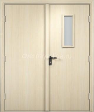 Дверь деревянная противопожарная ДПДО-02 EI-30 (Дуб беленый)
