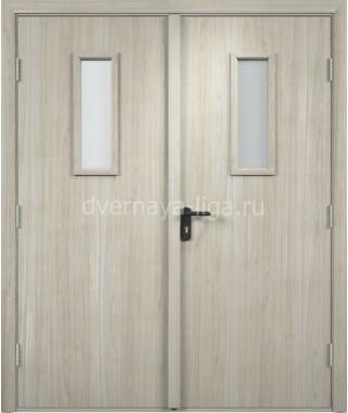 Дверь деревянная противопожарная ДПДО-02 EI-30 (Дуб мелинга)