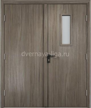Дверь деревянная противопожарная ДПДО-02 EI-30 (Вишня малага)