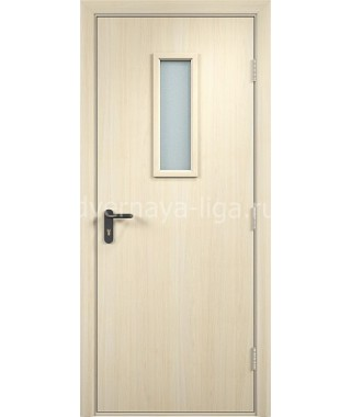 Дверь деревянная противопожарная ДПДО EI-30 (Дуб беленый)