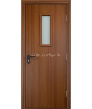 Дверь деревянная противопожарная ДПДО EI-30 (Орех лесной)