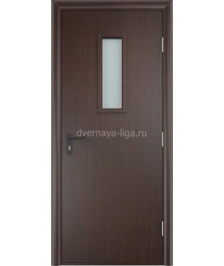 Дверь деревянная противопожарная ДПДО EI-30 (Венге)
