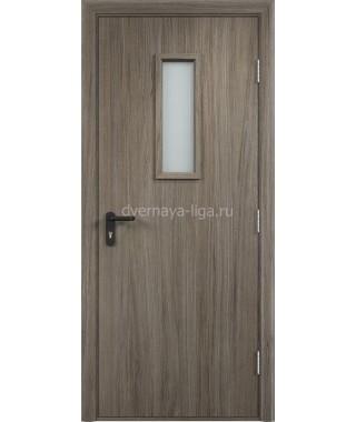 Дверь деревянная противопожарная ДПДО EI-30 (Вишня малага)
