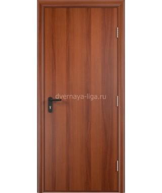 Дверь деревянная противопожарная ДПД EI-30 (Итальянский орех)