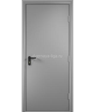 Дверь деревянная противопожарная ДПД EI-30 (Серая)